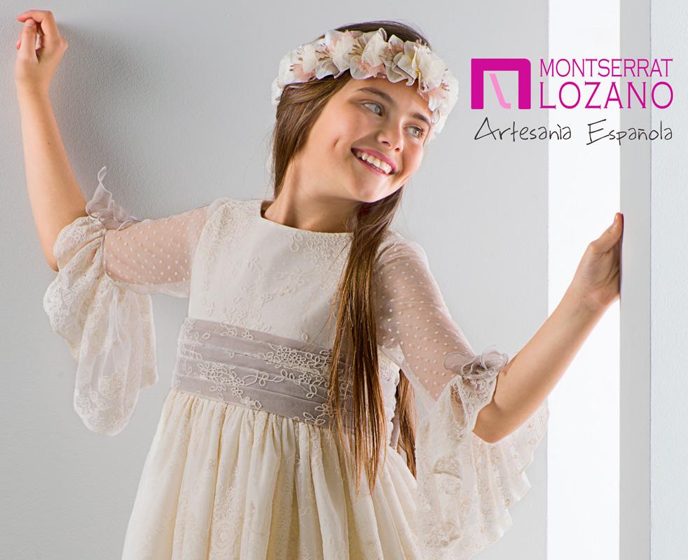 Montserrat Lozano comunion 2020